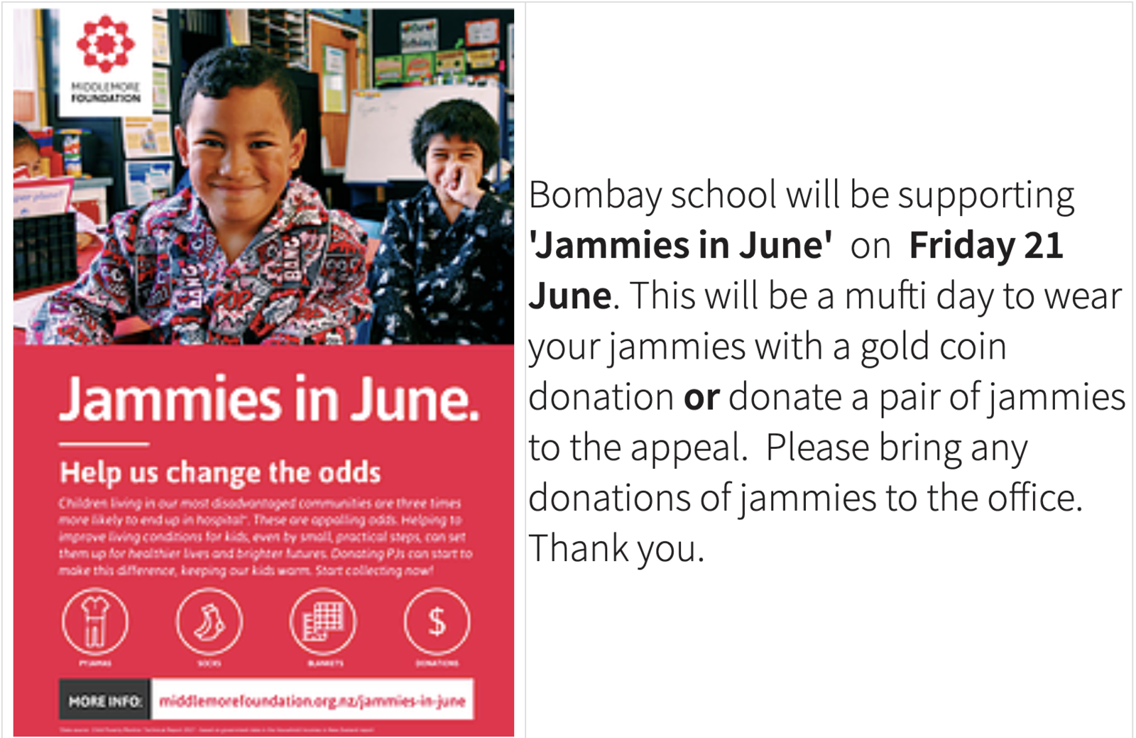 Newsletter 6 June 2019 (#17) | Bombay School